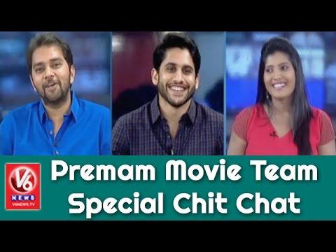 Premam Movie Team Special Chit Chat | Naga Chaitanya | Chandoo Mondeti | V6 News