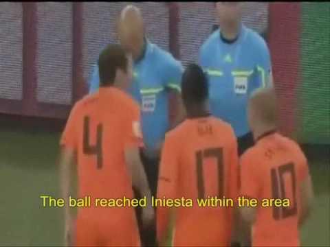 Gol de Iniesta a Holanda. Final Mundial 2010 (subs in English)