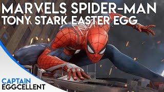 Marvels Spider-Man PS4 - Tony Stark Easter Egg