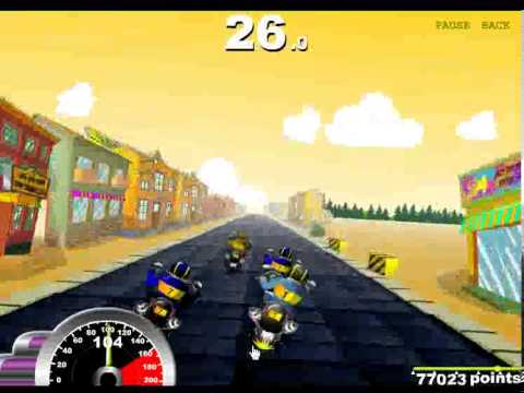 Race Choppers Cool Math Games
