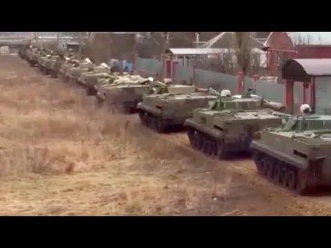 Военная техника России 7 апреля перешла границу Украины! - Смотреть видео онлайн