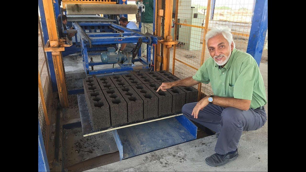 Maquinas automatica de hacer adoquines bloques block Construir una pileta de ladrillos
