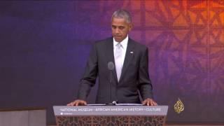 أوباما يفتتح المتحف القومي للأميركيين الأفارقة