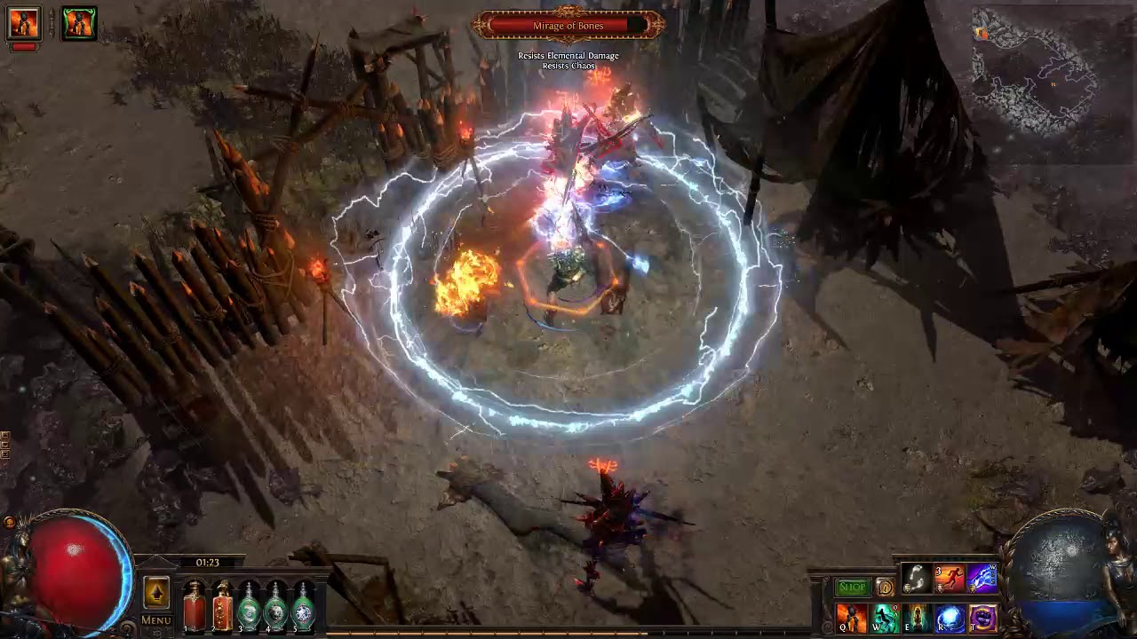 Leyline Map (War for the Atlas) - Official Path of Exile Wiki