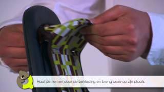 Qibbel achterzitje frame   Bevestiging bekleding stoeltje