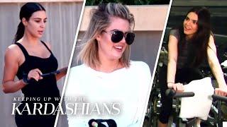 4 Funniest Kardashian Family Workouts | KUWTK | E!