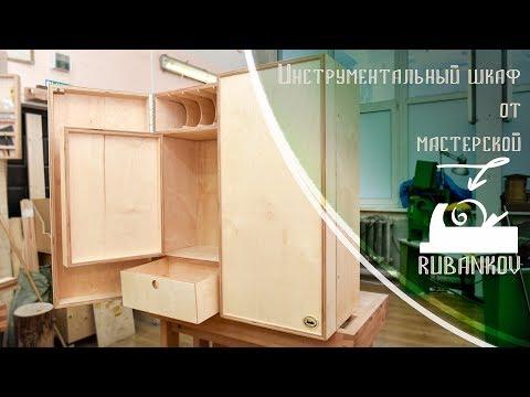 Инструментальный шкаф из фанеры - мастерская Rubankov.Net , обзор