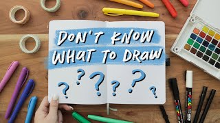 10 Drawing Ideas for When You&…