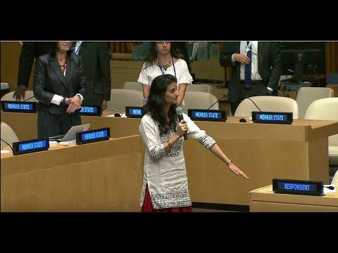 Sanaya Bharucha - Teach For India - High-level SDG Action Event on Education