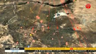 Россия начала обстреливать Сирию с моря ZAMAN 07.10.15