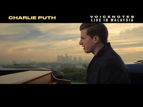Charlie Puth 'Voicenotes' Live In Malaysia