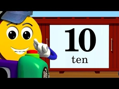 Counting & Spelling 1-10, Learn Numbers 1-10 | PicTrain™