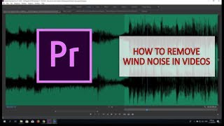How to remove wind noise in Videos in Premiere pro CC 2018 (Greek)