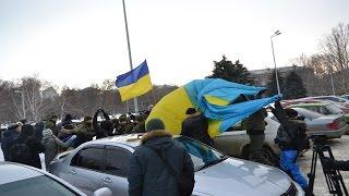В Одессе любителей Путина изгоняли флагом Украины(Одесские любители Путина, во главе Морисом Ибрагимом под прикрытием социальных лозунгов попытались пикети..., 2016-01-22T11:12:36.000Z)