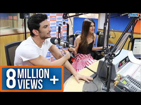 Raabta Interview with Sushant Singh Rajput & Kriti Sanon | RJ Rohit Vir - Radio City 91.1 FM