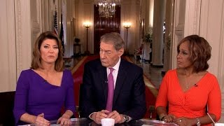 """CBS This Morning"" co-hosts talk about their special interviews inside the Trump White House"