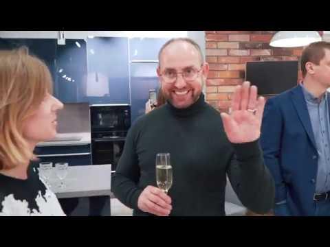Открытие салона Askona Кухни в ТЦ Roomer