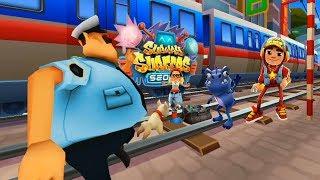 Subway Surfers Seoul 2019 - Dino vs Tricky vs Jake Star| Cartoons Mee