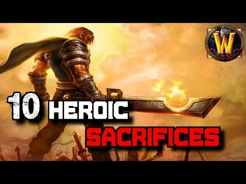 10 Heroic Sacrifices In World of Warcraft