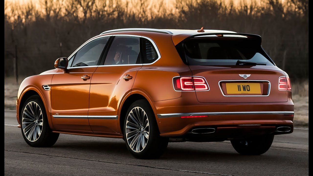 2020 Bentley Bentayga More Powerful Than Ever >> 2020 Bentley Bentayga Speed 190 Mph Fastest Suv In The World