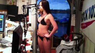 ROCK 107 Jessica Murphy hypnotized Bikini Zap