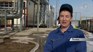 Работа газовых котельных в Ленске