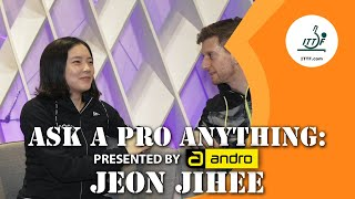 Jeon Jihee ???????? | Ask A Pro Anything