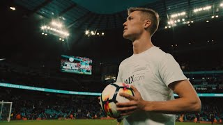 Football Freestyle with Manchester City players