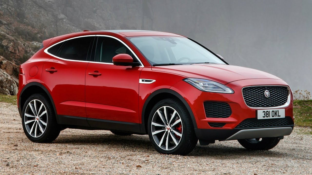 Jaguar F Pace Exterior >> 2018 Red Jaguar E PACE S D240 AWD - Sporty and Comfortable - YouTube