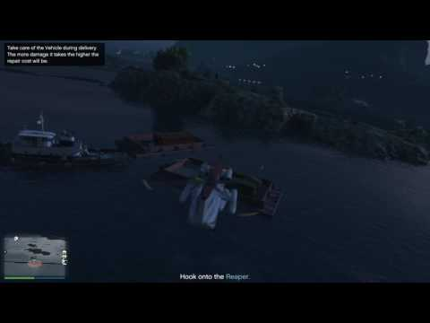 GTA 5 - Import/Export - Source Vehicle - Offshore Pickup, Barely Out Running Buzzards (Avi's Island)