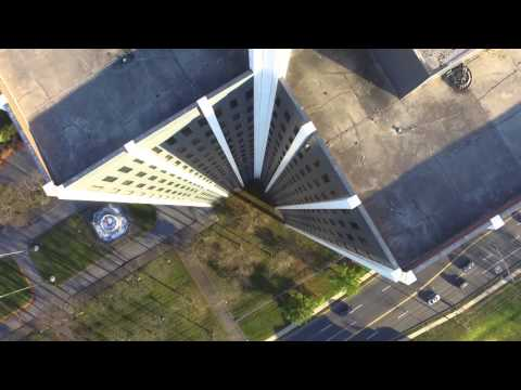 Martin Tower Fly By