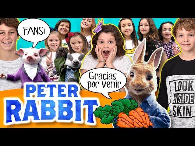 🐰¡¡Invitamos a 200 FANS al PreESTRENO de PETER RABBIT!! 🐰¡¡Vemos la PELÍCULA todos Juntos!! 😍