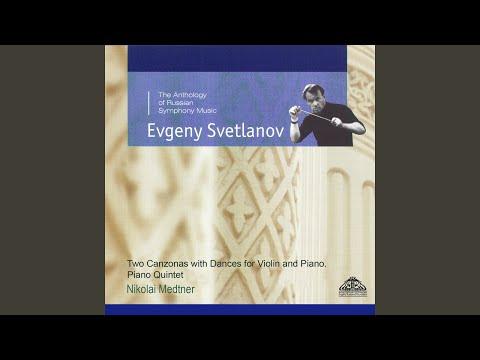 Sonata for Violin and Piano No. 2 in G Major, Op. 44: II. Cadenza (Dedicated to Alexander Goedicke)
