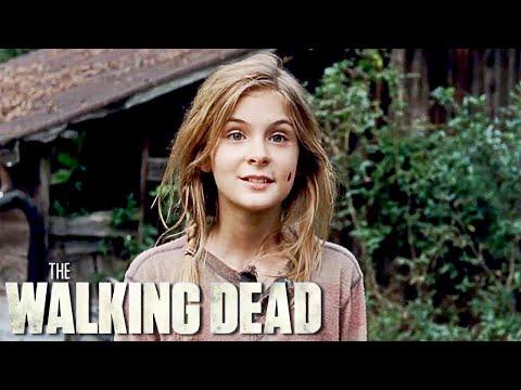 Lizzie Kills Mika in The Walking Dead 4x14