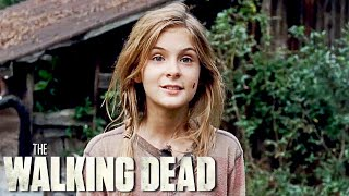 Lizzie Kills Mika in The Walking Dead 4x14
