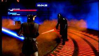 XboX360[Kinect STAR WARS]-DARTH VADER Final Boss Fight in Duels of Fate""