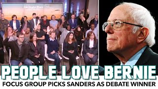 Focus Group LOVES Bernie After Watching Debate