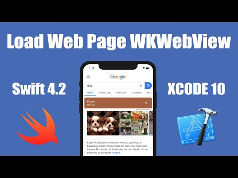 WKWebView Ios Swift Xcode Tutorial