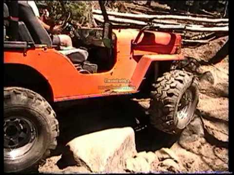 Jeep In Snow >> jeep willys v8 rock crawler rubicon trail - YouTube