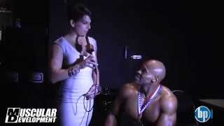 Harold Kelley Interview with Muscular Development - 2012 IFBB Pro Wheelchair Championships