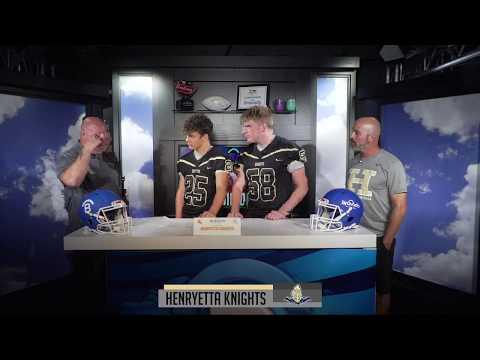 Henryetta Knights Talk Football with Bravado Wireless | 2018 High School Football Season