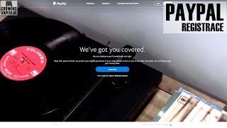 Jak na to - Registrace na PayPal