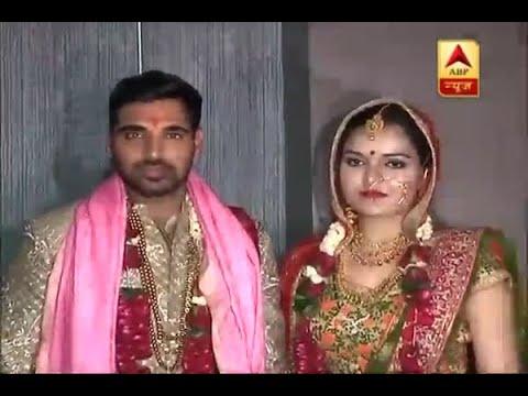 Cricket star Bhuvneshwar Kumar ties knot with Nupur Nagar in Meerut