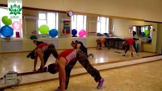 Функциональный тренинг. Фитнес тренировки, тренер Евгения Закирова #фитнесклублотосомск #фитнесомск