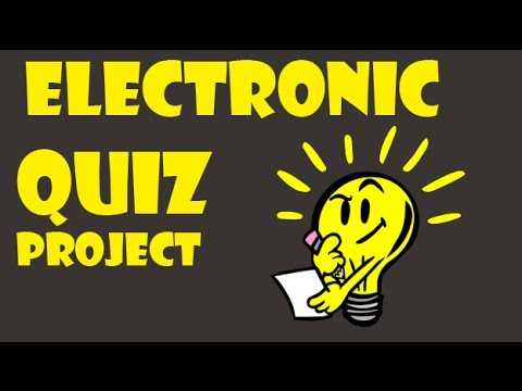 Electronic Quiz Project with 8051 Microcontroller