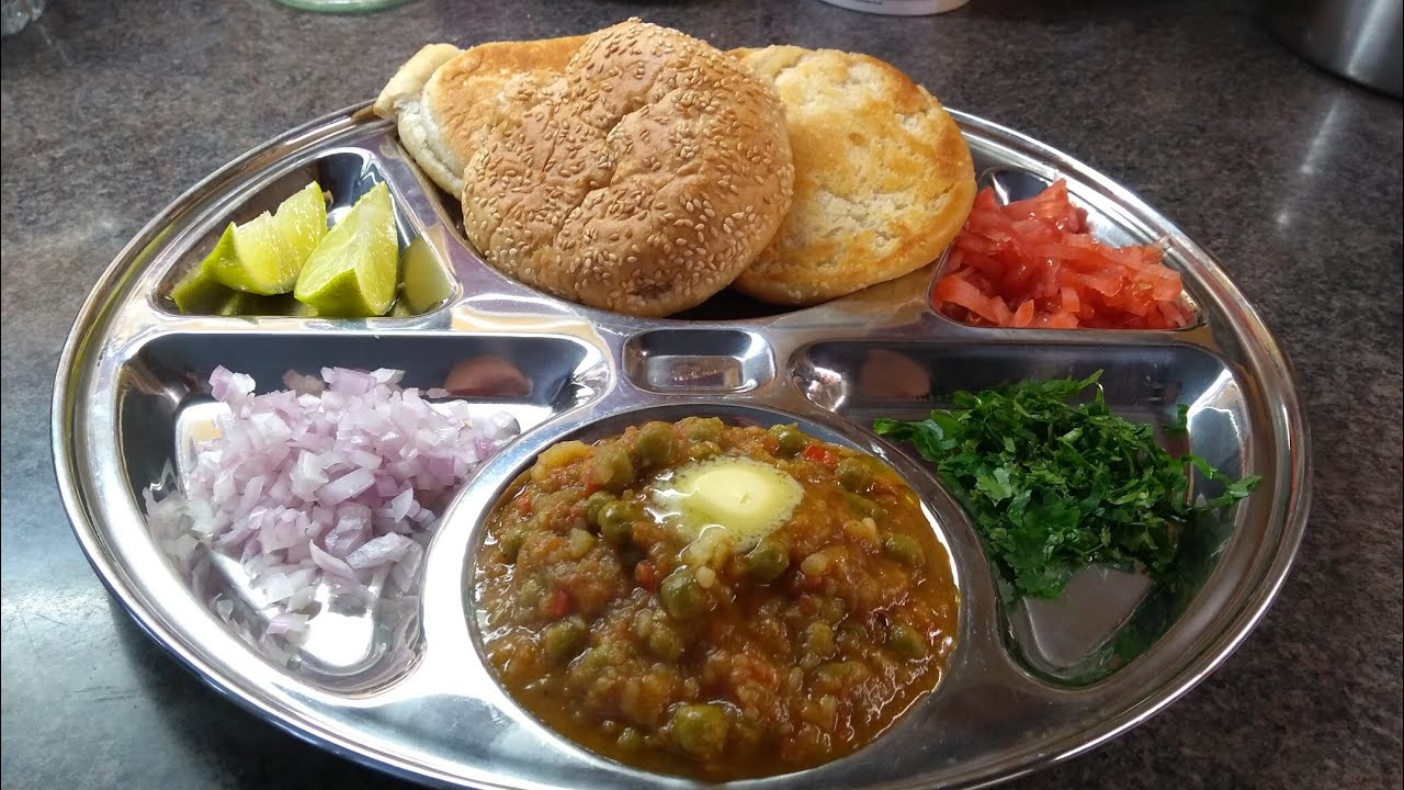 Mumbai indian street food style pav bhaji a delicious indian mumbai indian street food style pav bhaji a delicious indian vegetarian recipe youtube forumfinder Gallery
