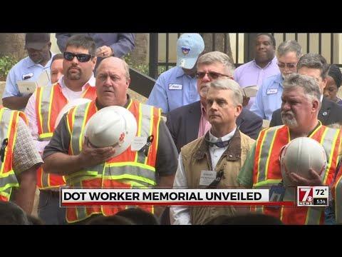 SCDOT workers honored in new memorial