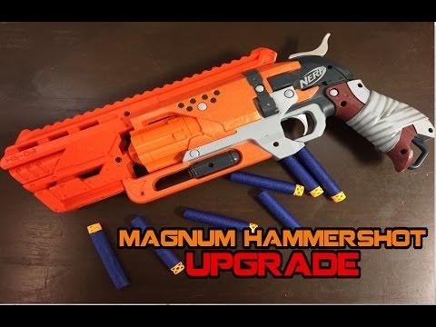 NERF Magnum Hammershot - Full Upgrades Installation