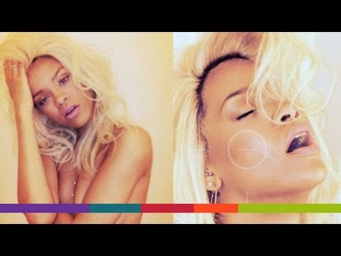 Rihanna's Photoshoot to Promote New Fragrance