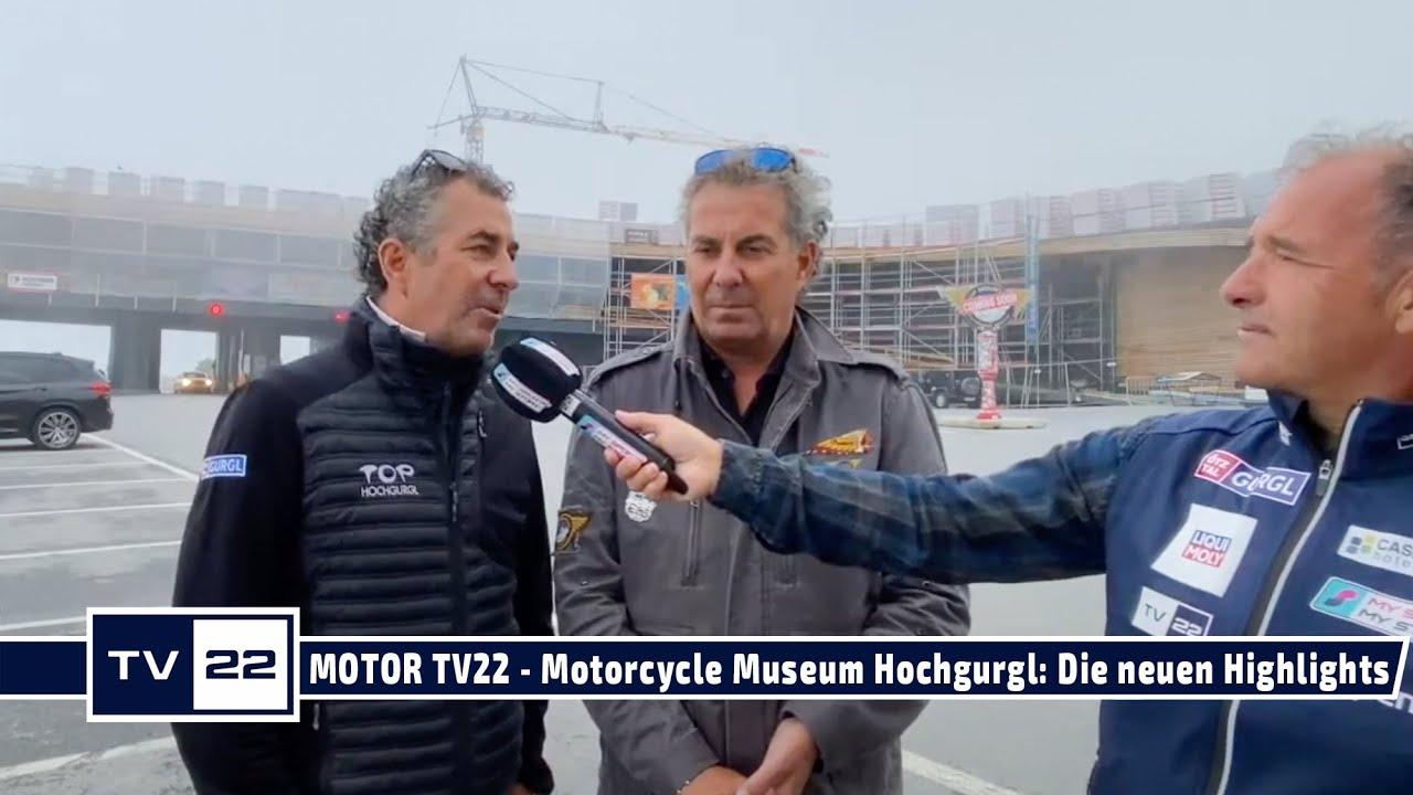 MOTOR TV22: TOP Mountain Motorcycle Museum - Attila und Alban Scheiber verraten vorab die Highlights